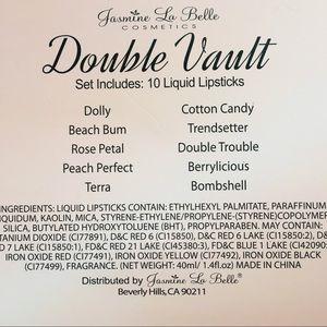 Jasmine La Belle Makeup - New! Jasmine La Belle 'Double Vault' Lip Set